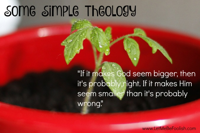 simple theology