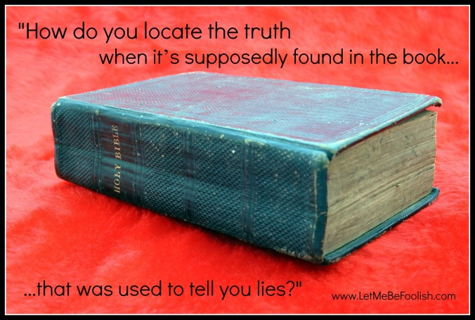 Bible used for lies